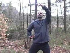 Tai Chi Silk Reeling Basics : Two-Handed Figure 8 Tai Chi Silk Reeling - YouTube