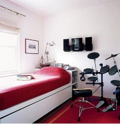 Boys Music Bedroom Ideas