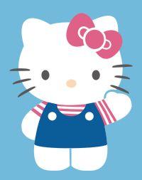 Hello Kitty Template