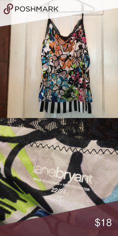 Floral tank Bright and colourful, perfect for summer! Lane Bryant Tops Tank Tops