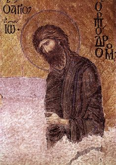 John the Baptist - Deesis Mosaic - Hagia Sophia Byzantine Art, Byzantine Icons, Paint Icon, Antique Tiles, Hagia Sophia, Historical Art, John The Baptist, Mosaic Art, Istanbul