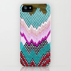 Isometric Harlequin #5 iPhone & iPod Case by KATE KOSEK - $35.00