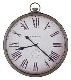 "Gallery Pocket Watch Wall Clock 30"" by Howard Miller"