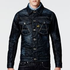 G-Star RAW - A-crotch Slim Jacket - Men - Jackets