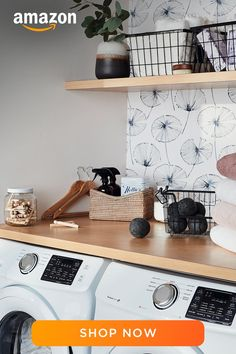 Laundry Room Organization, Laundry Room Design, Laundry In Bathroom, Kitchen Design, Architecture Design, Laundry Room Inspiration, Cozy House, Home Remodeling, Room Decor