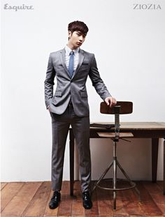 2PM Taecyeon and Chan Sung - Esquire Magazine May Issue '11