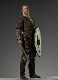 Leif was a Viking warrior who joined Ragnar Lothbrok's war band in the exploration westward. Like his father, Erik, Leif is a veritable giant of a man, among the tallest and largest of his Viking comrades.