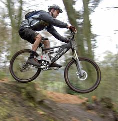 I've been really loving mountain biking its such a rush