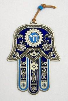 Hamsa or Hand of Fatima - protection against the evil eye