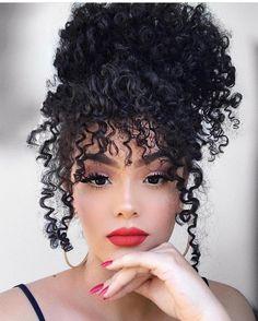 """1,009 curtidas, 4 comentários - Embrace your Curls (@naturalchixs) no Instagram: """" @jessicaandradeoficial #naturalchixs #naturalhair #fun #natural #follow #teamnatural #beautiful…"""""""