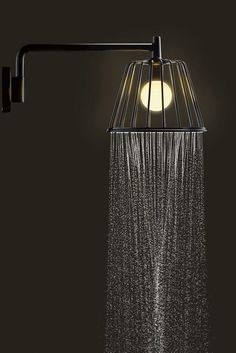 axor lamp shower by nendo