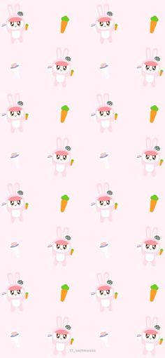봉봉이 Bunny : 네이버 블로그 Cute Galaxy Wallpaper, Seventeen Album, Seventeen Wallpapers, Light Of My Life, Lock Screen Wallpaper, Fan Art, Woozi, Korea, Aesthetics