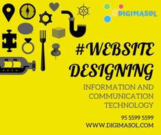 Website design means planning, creation and updating of websites. For more details reach us @ 95 5599 5599 Information And Communications Technology, Digital Marketing Services, Seo, Web Design, Website, Design Web, Website Designs, Site Design