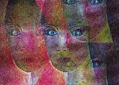 """Renate Horn, """"Wachsam"""" (1) Mit einem Klick auf 'Als Kunstkarte versenden' versenden Sie kostenlos dieses Werk Ihren Freunden und Bekannten."""