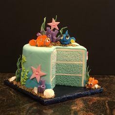 Una bonita tarta infantil