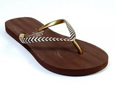 Brasileras Womens Guarda Flip Flop Brown 1112 ** To view further for this item, visit the image link.(This is an Amazon affiliate link and I receive a commission for the sales)