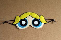 Powerpuff Girls Bubbles Sleep Mask / Eye Mask by OmiPop on Etsy