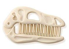 De prehistorie werd uitgekamd om een deze originele Bone Head haarkam te vinden. Want rommelig haar is gewoon zò Neanderthaler!
