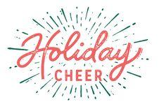 Typeverything Holiday Cheer by Dan Cassaro