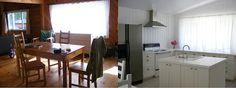 The White Farmhouse & Garden kitchen renovation before & after white kitchen