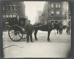 A Cabbie - 33 Everyday Street Scenes From Late 1800s New York City