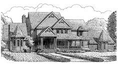 Victorian House Plan with 4303 Square Feet and 4 Bedrooms from Dream Home Source | House Plan Code DHSW49206