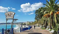 Praia Castel Plage em Nice #viajar #paris #frança