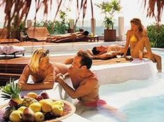 Desire resorts party's which you can enjoy full and  drinking on the beach side.