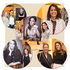 """Uma turma de convidadas prestigiou a inauguração da exposição """"Corrente do Bem"""" na loja da @louisvuitton no @cidadejardimshopping. Entre elas @cacelico @danielafalcao1 @donatameirelles @srogar @paulatrussardivinson @betearbaitman e Carola Monteiro de Barros Matarazzo. A mostra fica no espaço até o dia 5 de abril. Veja mais em vogue.globo.com #moda #louisvuitton #voguemarco  via VOGUE BRASIL MAGAZINE OFFICIAL INSTAGRAM - Fashion Campaigns  Haute Couture  Advertising  Editorial Photography…"""