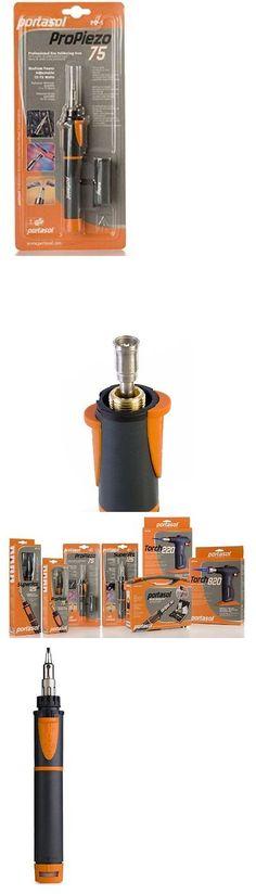Welding and Soldering Tools 46413: Portasol 011280240 Pro Piezo 75 Watt Butane Powered Soldering Iron, No Tax, Free -> BUY IT NOW ONLY: $39.1 on eBay!
