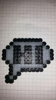 Hama bead pattern, glow in the dark beads, koselighobby.blogg.no