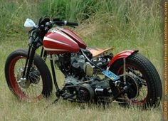 Photo of 1975 Harley Shovelhead Bobber X-15 by Kevin.