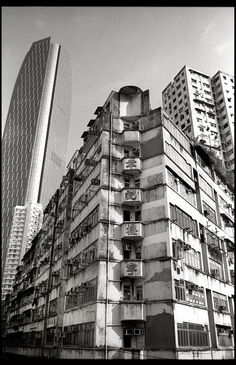 https://flic.kr/p/Hfi7Ld | While we scrape the sky, there's still something different. | Hong Kong owns the world's largest collection of skyscrapers — 7,650, to be precise.  Location: King's Road, Quarry Bay, Hong Kong  Canon EOS 1V HS Canon EF 28-70mm f/2.8L USM Rollei 80s as ISO 50 Red Filter  Kodak D-76 (1+1) 12:30 min at 20ºC  Development details on FilmDev