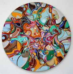 Know Self painting by Alex Janvier