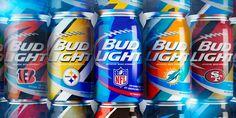 Bud Light NFL Cans — The Dieline - Branding & Packaging