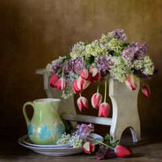 Lilac and Tulips by Nikolay Panov on 500px
