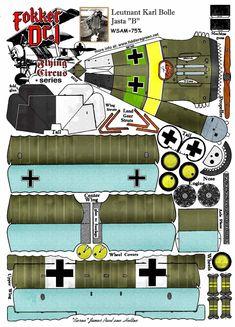 Fokker Dr.I - Paper Plane
