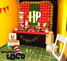 Love this Harry Potter birthday party! See more party ideas at CatchMyParty.com!