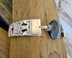 Coronation Silver Plated Spoon Bracelet with by wearetheedge, $38.00