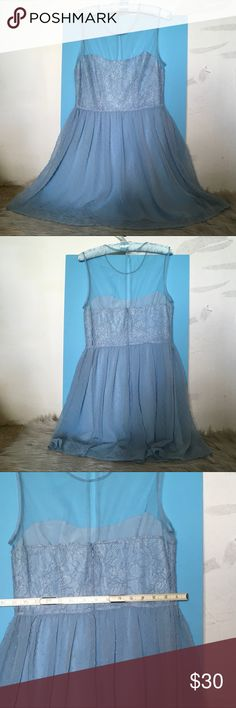Rodarte for Target Baby Blue Lace Bustier Style Worn once, still in great condition. Fits true to size. Rodarte Dresses