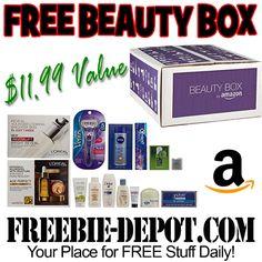 ►► FREE Beauty Box Sample from Amazon!  12 FREE Samples!  $11.99 Value ►► #Amazon, #Beauty, #Free, #FREESample, #FREEStuff, #FREEbate, #Freebie ►►