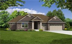 Weston home Elevation D - Summit at Ridgestone in Woodbury