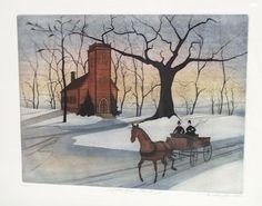 P Buckley Moss - Little Brown Church