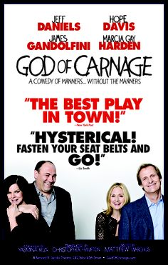 March 22, 2009 - GOD OF CARNAGE - One of my favorite shows of 2009. R.I.P. James Gandolfini
