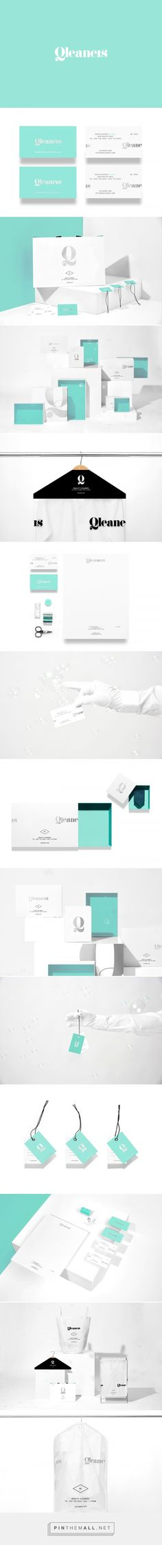 Qleaners Laundry Service Branding by Anagrama Studio | Fivestar Branding Agency – Design and Branding Agency & Curated Inspiration Gallery #branding #brand #identity #identitydesign #design #designinspiration
