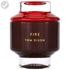 Tom Dixon Fire Scented Candle Large - Fun stuff and gift ideas (*Amazon Partner-Link)