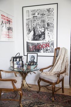 Decor POSTER.Home room Art.Interior Design.Peacock and Woman.Art Nouveau.6991