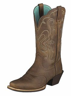MUST...OWN...THESE!!! I will only buy Ariats, they are sooo comfy and built tough!