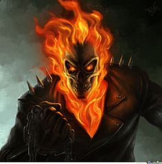 ghost rider tattoos - Google Search Ghost Rider Drawing, Ghost Rider Tattoo, Ghost Rider Pictures, Creepy Art, Good And Evil, Marvel Dc, Dc Comics, Coloring Pages, Images
