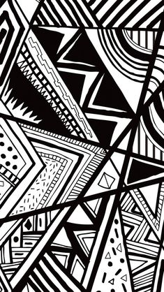 Black And White Doodle  #iPhone #5s #Wallpaper | www.ilikewallpape..., here to download more free iPhone wallpapers.